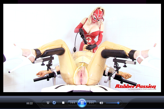 'Lucy's Rubber Clinic' (Rubber Doll Inspection) Pt:2