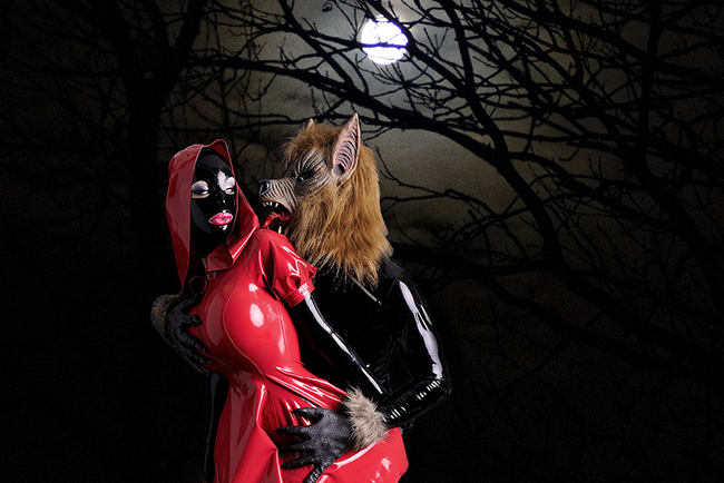 'Red Rubber Riding Hood' (Gallery)