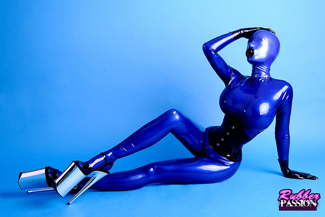 'Blue Rubberized Doll' (Gallery)